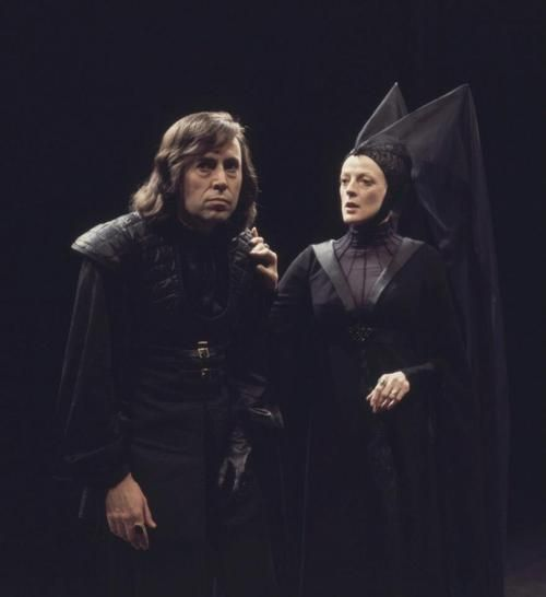 """Maggie Smith and Brian Bedford, """"Richard III"""", Stratford, Ontario, 1977."""