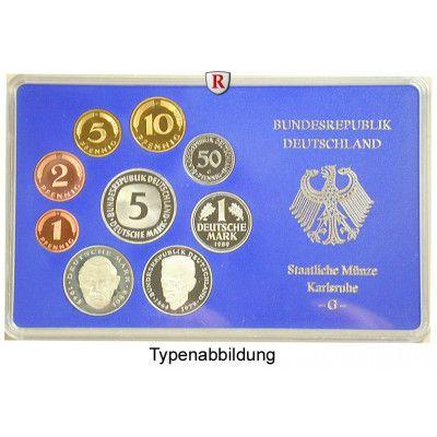 Bundesrepublik Deutschland, Kursmünzensatz 2001