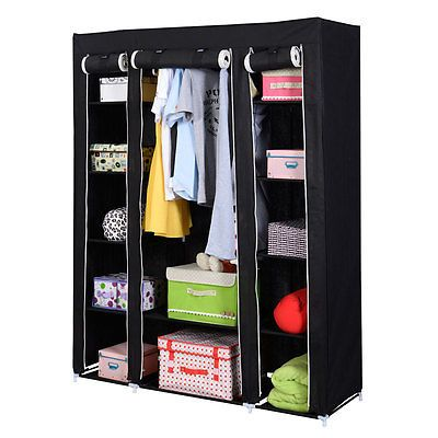 17 Best ideas about Portable Closet on Pinterest | Clothes rack bedroom,  Open closets and Clothes storage