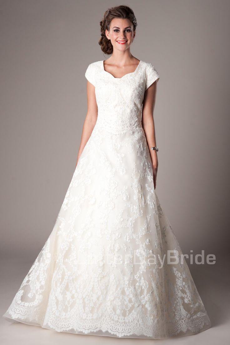 Seraphim Modest Wedding Dress Latter Day Bride Prom