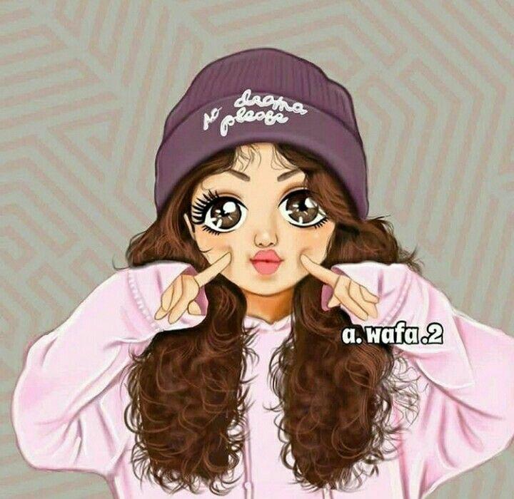 Pin By Nani On Art Cute Cartoon Girl Cute Cartoon Faces Beautiful Girl Drawing