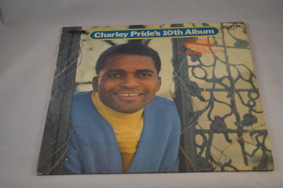 Vintage Record Charley Pride: 10th Album by FloridaFinders on Etsy