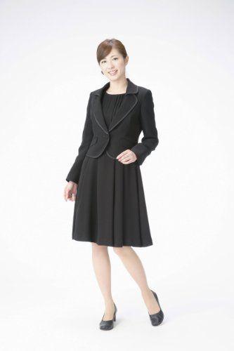 Amazon.co.jp: (マーガレット)marguerite m430 ブラックフォーマル レディース アンサンブル 礼服: 服&ファッション小物