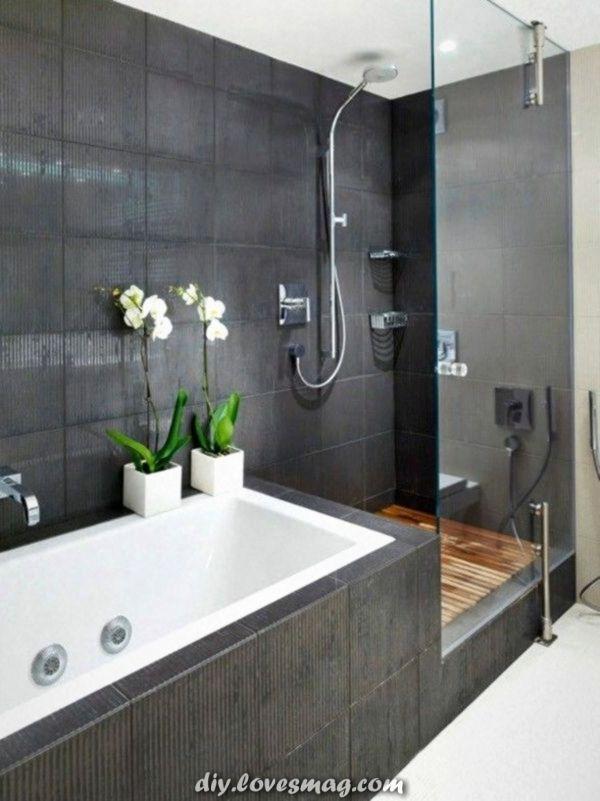 Moderne Badezimmer mit Dusche, fabelhafte Design-Ideen ...