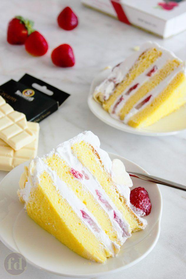 Japanese Strawberry Shortcake Recipe Asian Desserts Japanese