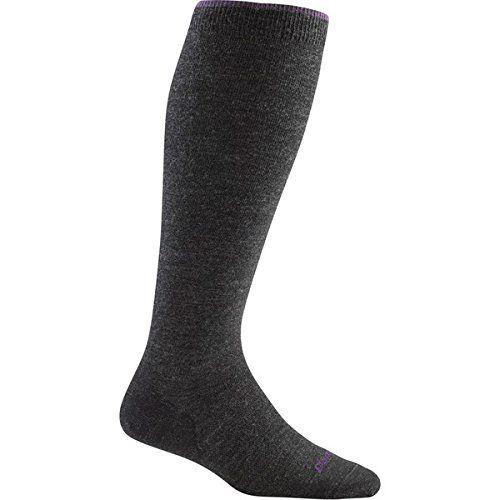 (ダーンタフ) Darn Tough レディース インナー ソックス Solid Light Knee High Socks 並行輸入品  新品【取り寄せ商品のため、お届けまでに2週間前後かかります。】 カラー:Charcoal カラー:ブラウン