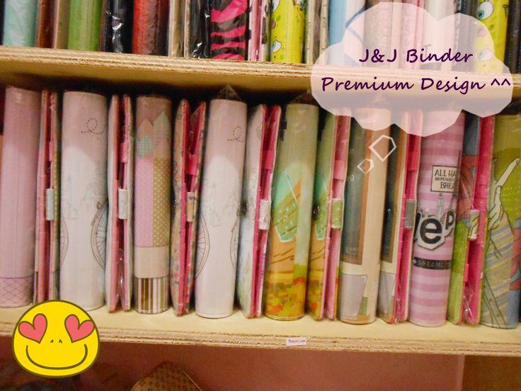 Stock Binder Motif Premium ^ ^