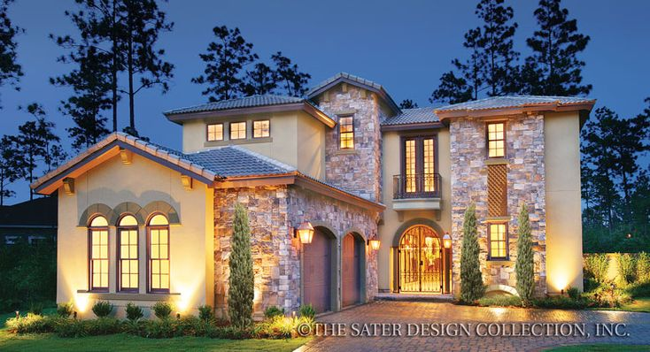 Ferretti House Plan Home Design Home And Courtyards