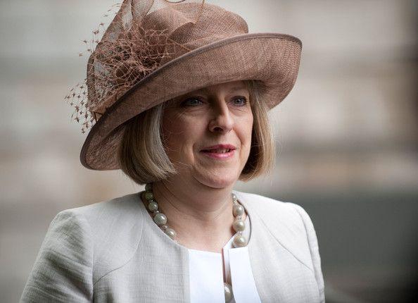 Theresa May Photos - Diamond Jubilee - Service Of Thanksgiving - Zimbio