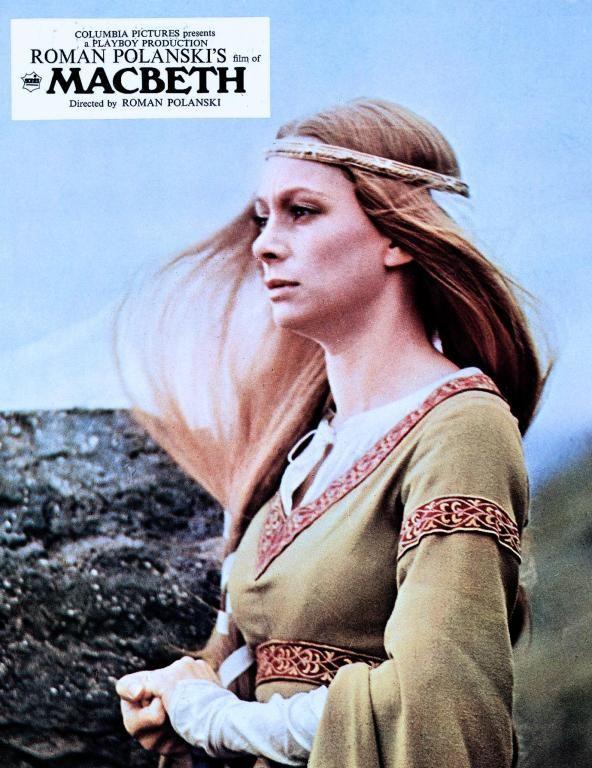 """Francesca Annis in Roman Polanski's """"Macbeth"""" - 1971"""