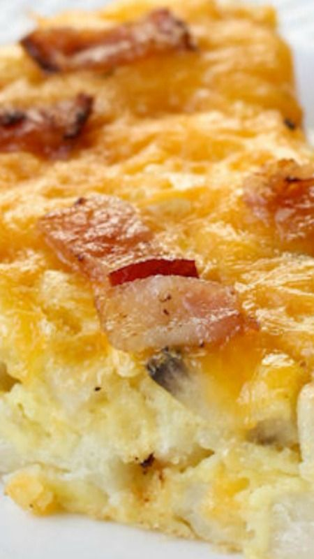 Cheesy Breakfast Pie ~ a delicious and SIMPLE recipe