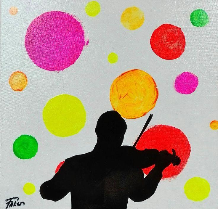 "Joaquim Falcó: ""Violinist"" - Subasta Real"