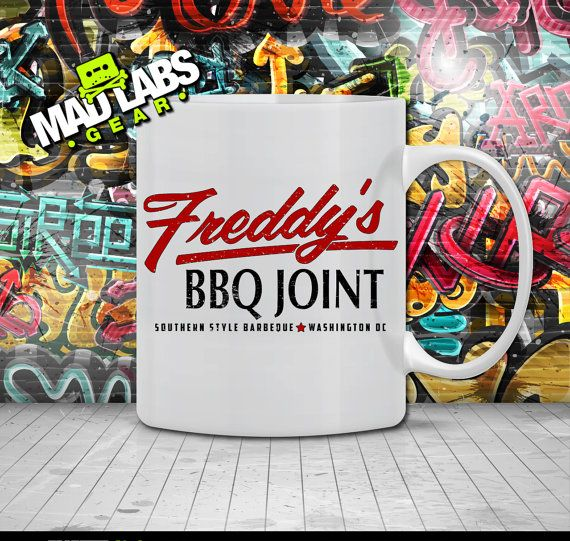 Freddy's BBQ Joint Tshirt House of Cards Inspired by MADLABSGEAR, $12.49