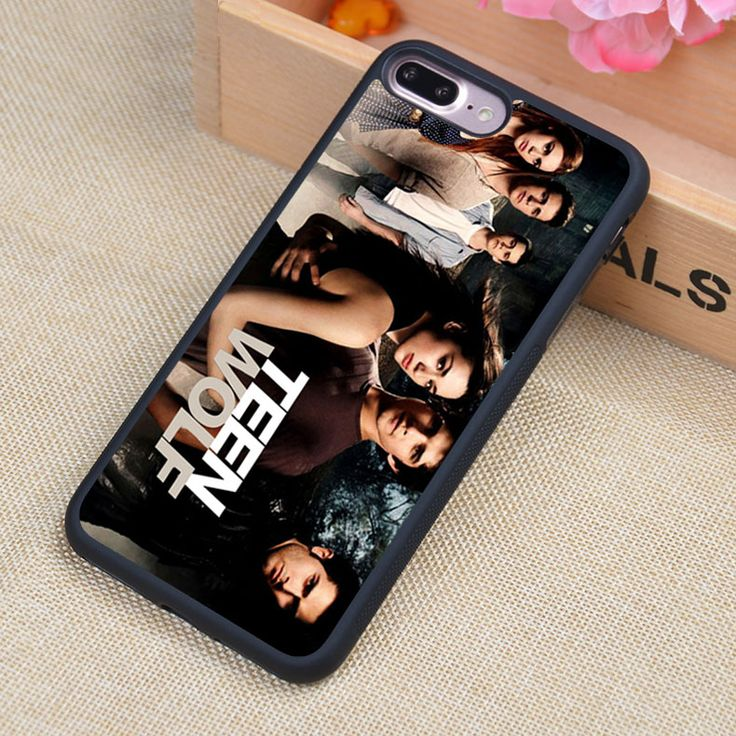 Hot Teen Wolf TV Printed Soft TPU Skin Mobile Phone Cases OEM For iPhone 6 6S Plus 7 7 Plus 5 5S 5C SE 4 4S Back Cover Shell