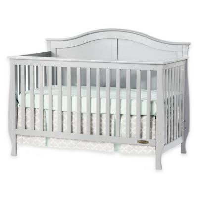 The Child Craft Camden Convertible Crib Boasts An