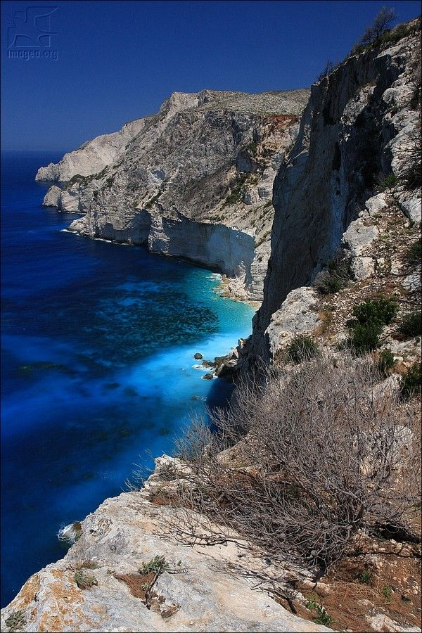 Zakynthos east coast near Vromi bay - Zakynthos island - Ionian islands - Greece