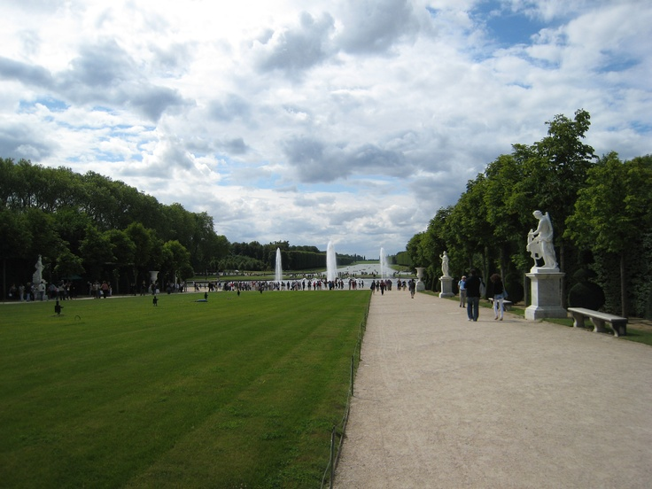 The nature in Versailles