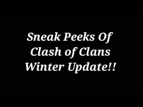 COC Winter Update   Sneak peek 1  Coc new troops level update   Coc update   winter update coc 2016 - YouTube