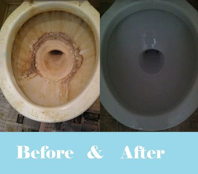 My American Confessions: How to Clean IMPOSSIBLE Toilet Bowls: Updated!
