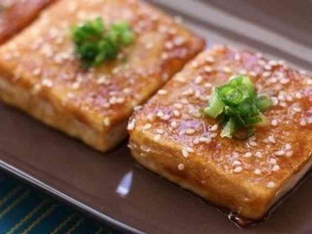 ご飯がすすむ♪豆腐の蒲焼き風の画像