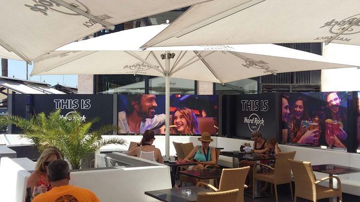 Hard Rock Cafe Mallorca Terrace!