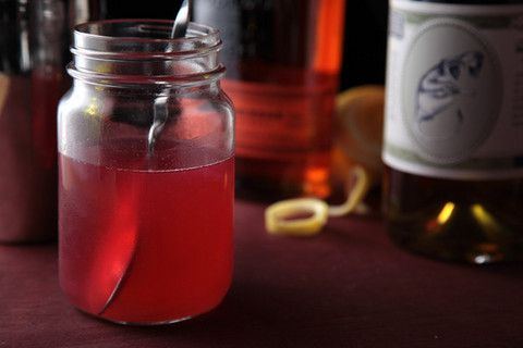 Rhubarb Syrup Recipe - This is merely a flavored simple syrup. Use it to spruce up everything from cocktails, punch, and iced tea to fruit salad or plain yogurt.