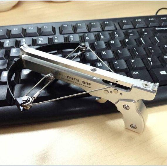 mini crossbow Hunting bow arrow Have fun by EasonFashionShop