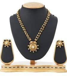 Buy Party Wear Necklace Set Pearl & Kundan Jewellery necklace-set online