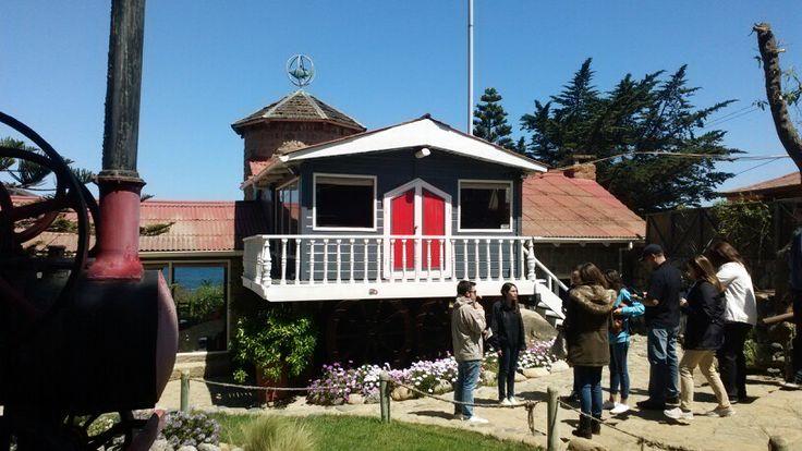 Casa del poeta Pablo Neruda en Isla Negra