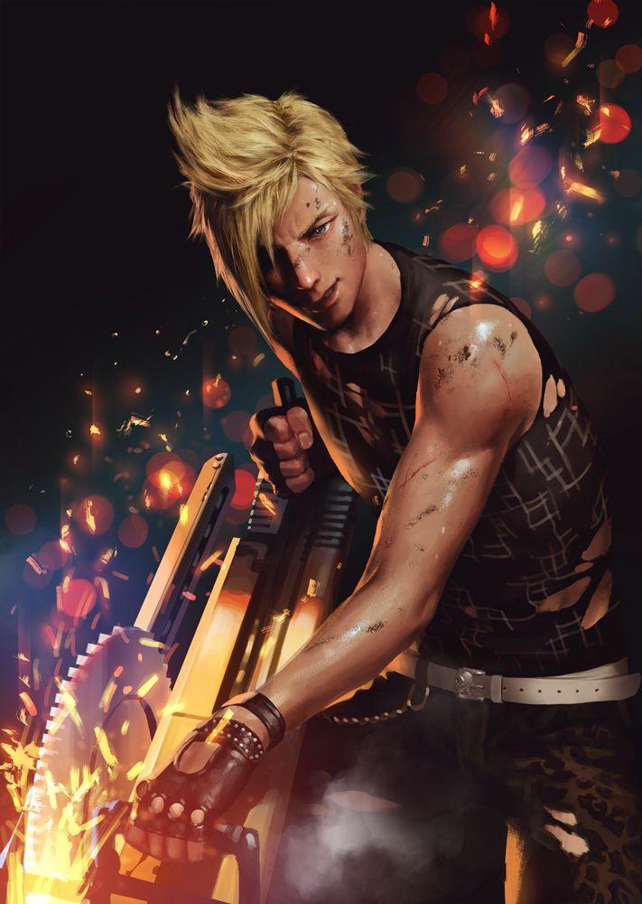 Final Fantasy XV - Prompto Argentum by Penguinfrontier