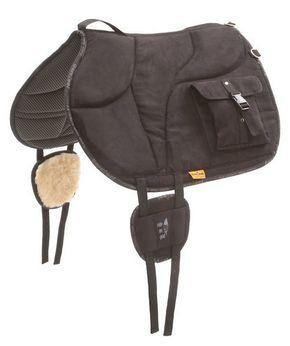 Der Wanderreitershop - Onlineshop für Pferd und Reiter - Bareback-Pad - Ride-On-Pad - Sattelkissen - Reitkissen mit Satteltaschen, Barefoot