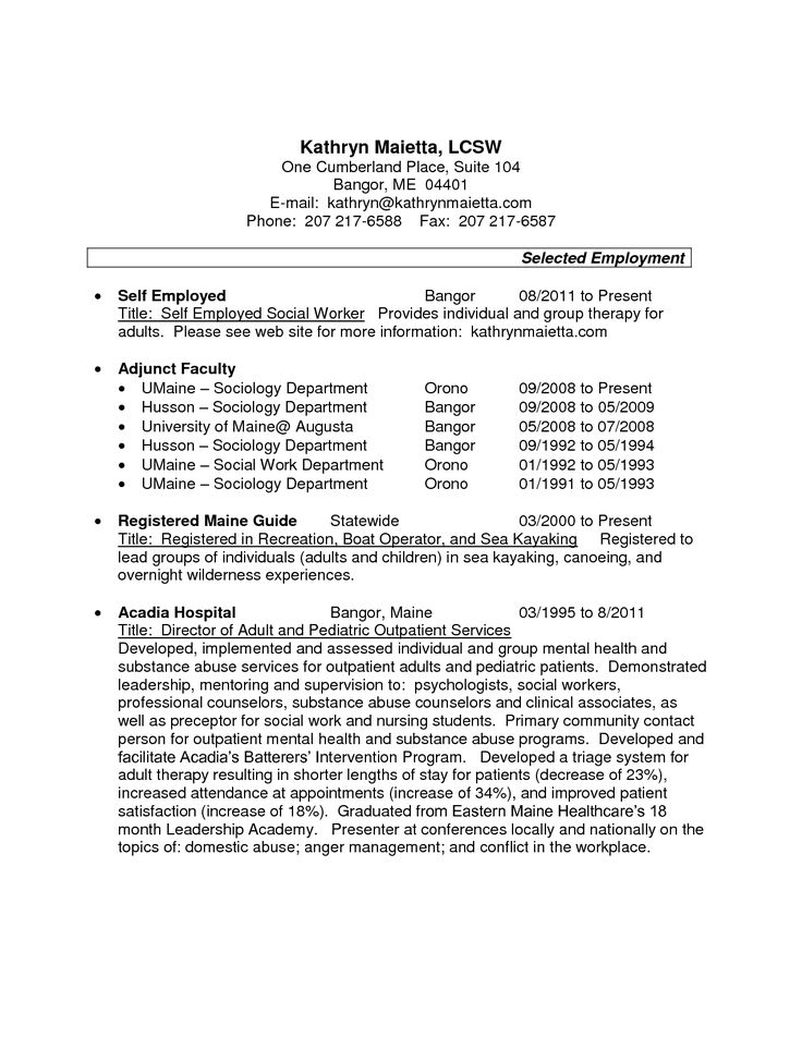 Resume Examples For SelfEmployed Person You Can Make Money Online