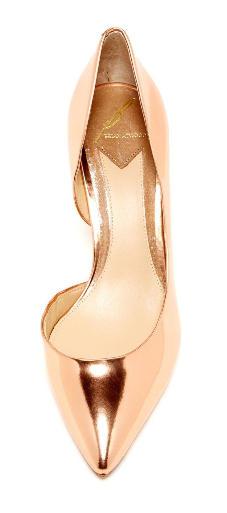Rose gold | d'Orsay heels