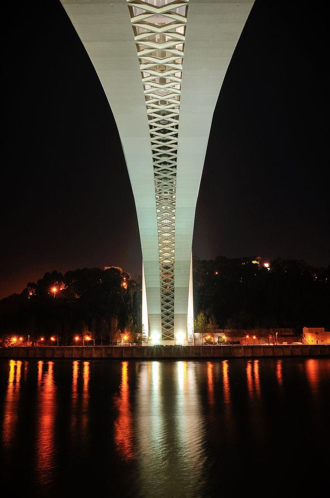 #Porto #bridge #Portugal: Arrábida Bridge