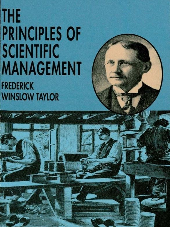 The Principles of Scientific Management by Frederick Winslow Taylor  The basis of modern organization and decision theory, this influential essay has motivated administrators and students of managerial technique for more than 80 years. The author discusses eliminating inefficiency through a system based on principles applicable to individual and collective activities. A ground-breaking, and still-inspiring work.