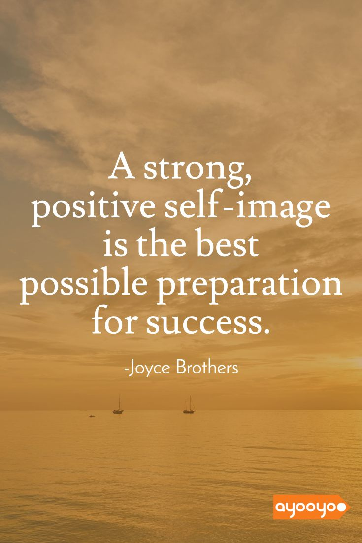 Strong self image