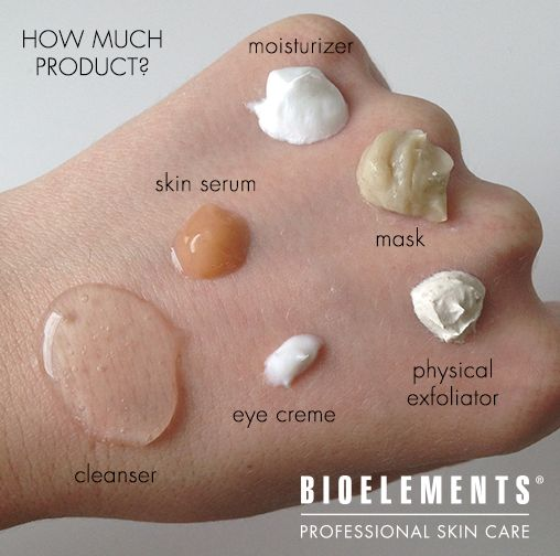 Do you use too much skin care? Use our quick cheat sheet.