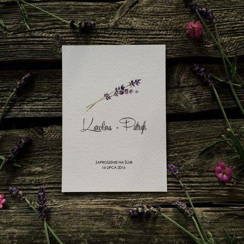lavender boho invitation