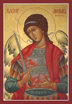 St. Michael Archangel #orthodox #icon
