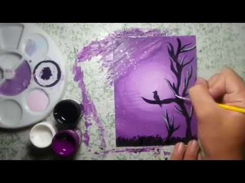 how to paint with poster colors scenery drawing of love birds with soft pastels pastel drawing youtube