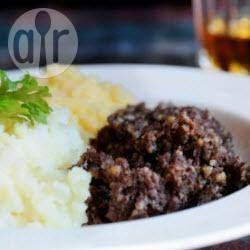 Traditional Scottish Meal - Haggis Neeps and Tatties
