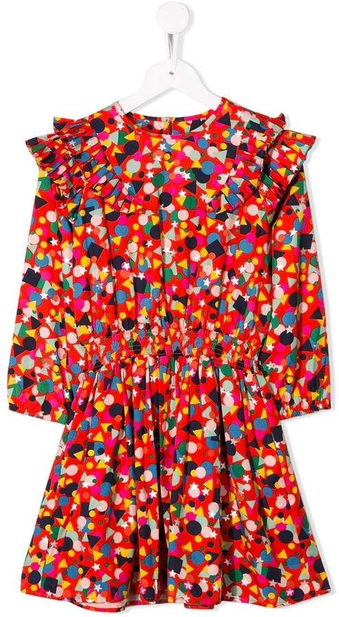 Stella McCartney Kids Geometric Print Dress