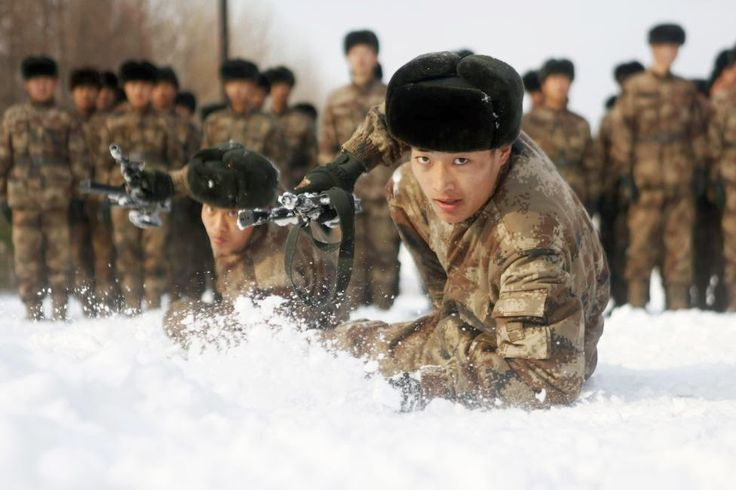 My Pakistan - Chinese Military Training - Winter soldiers