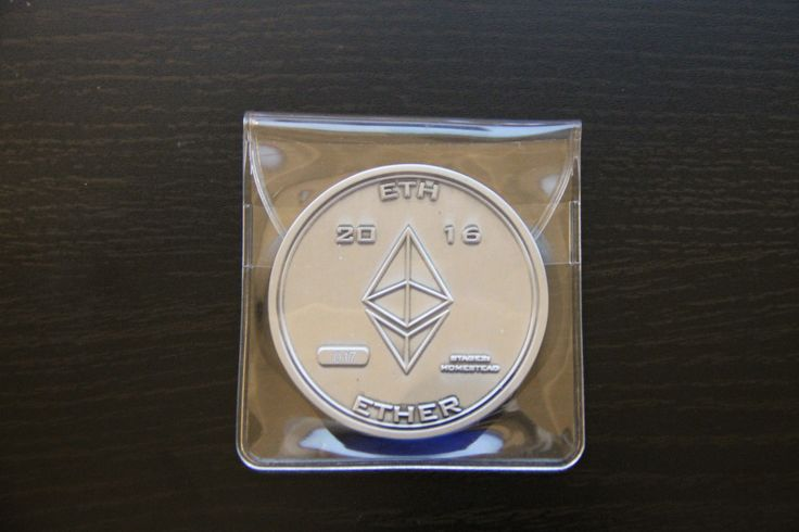Ethereum Physical Coin Silver 2016 ETH Ether Bit Coin Homestead #17  Price : 375.98  Ends on : 20 hours    - #Antrouter, #Bitcoin, #BitcoinMiner, #BITCOINMININGCONTRACT, #GntMining