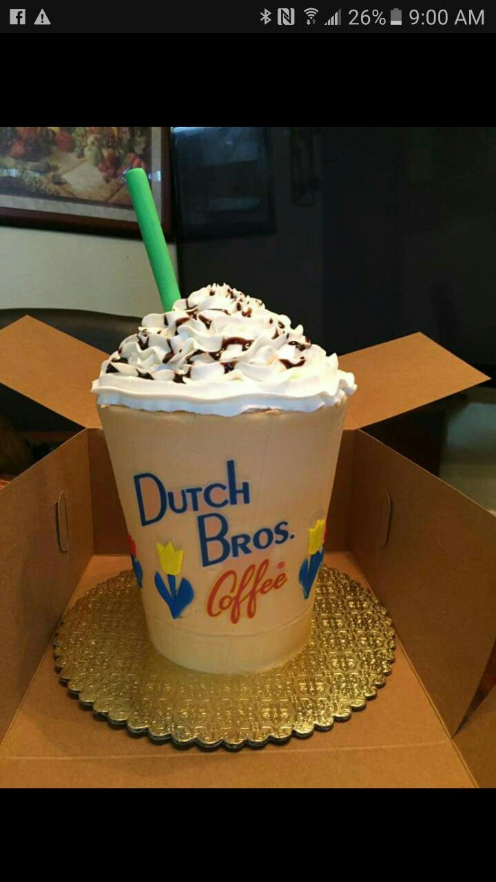 Dutch bros cake