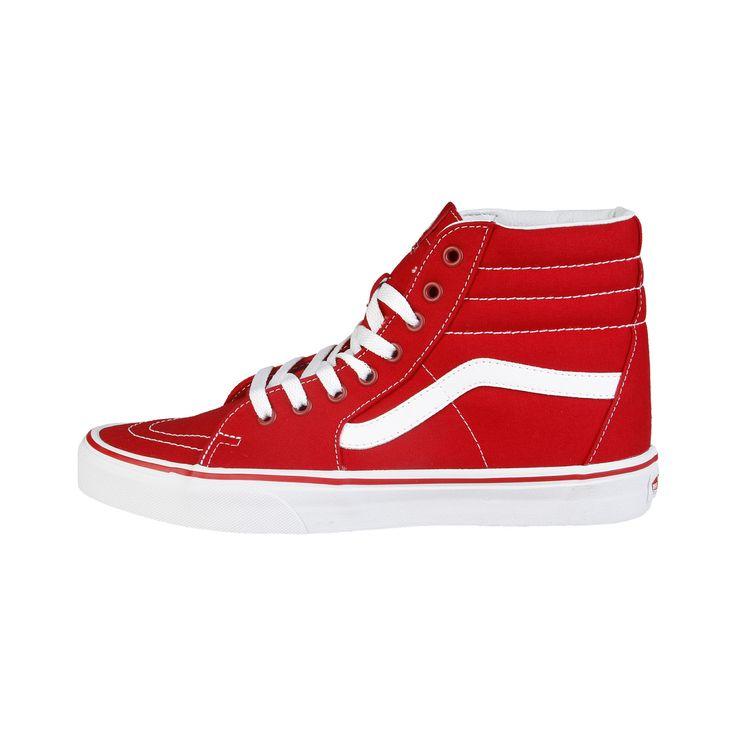 Vans scarpe – sneakers stringate alte, tomaia in tela resistente, occhielli in metallo, sottopiede ammortizzato in tessuto e suola originale in gomma – interno tessuto – scala taglie di riferimento VANS USA Men