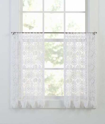 macrame medallion tier panel chabby chic pinterest. Black Bedroom Furniture Sets. Home Design Ideas