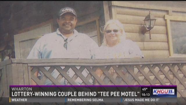 Local legends behind Wharton's Teepee Motel