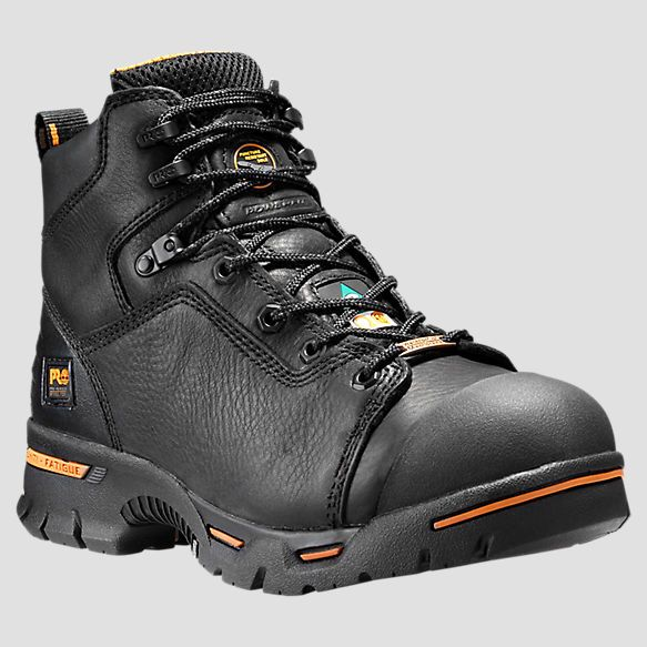 "Timberland | Men's Timberland PRO® Endurance 6"" Steel Toe Work Boots"