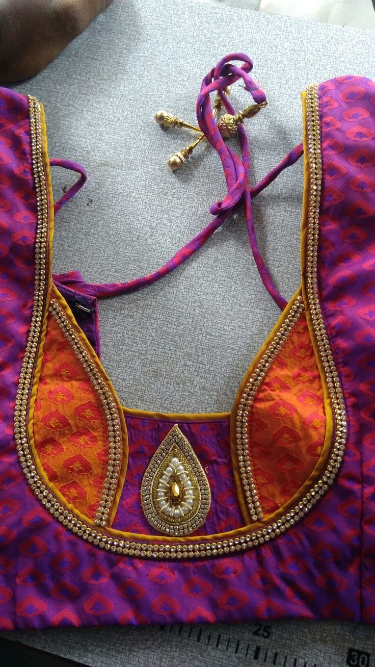 Great for sarees with borders